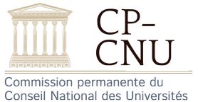 Conseil National des Universités - CP-CNU